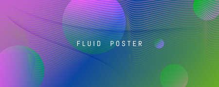 Flow Geometric Abstract. Vector Futuristic Lines Wallpaper. Colorful Digital Brochure. Memphis Dynamic Magazine. Geometric Abstract. Fluid Liquid. 3d Texture. Color Geometric Abstract. 矢量图像