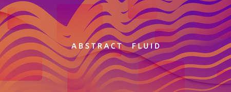 Abstract Fluid Background. 3d Futuristic Flyer. Flow Shapes Banner. Purple Abstract Fluid Background. Vivid Memphis Wallpaper. Digital Illustration. Color Lines. Abstract Fluid Background.