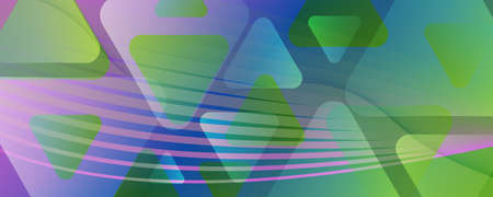 Fluid Geometric Abstract. Curve Gradient Shapes Movement. Colorful Business Banner. Modern Futuristic Illustration. Geometric Abstract. Flow Stripes. 3d Brochure. Color Geometric Abstract.