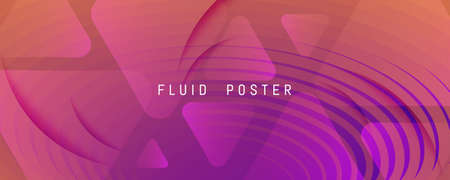 Abstract Fluid Background. 3d Geometric Stripes. Flow Shapes Poster. Orange Abstract Fluid Background. Color Memphis Landing Page. Creative Magazine. Wave Lines. Abstract Fluid Background.
