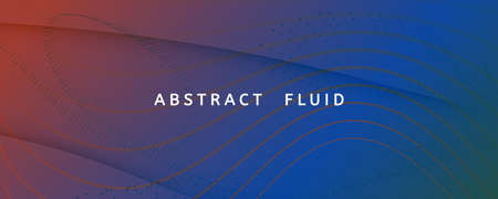 Flow Geometric Abstract. Vector Dynamic Lines Landing Page. Green Technology Texture. Graphic Futuristic Template. Fluid Liquid. 3d Curve Wallpaper. Gradient Geometric Abstract. Wave Shapes. 免版税图像
