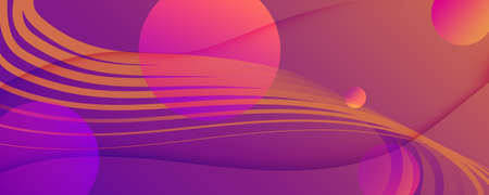 Abstract Fluid Background. 3d Futuristic Design. Flow Shapes Poster. Purple Abstract Fluid Background. Wave Graphic Landing Page. Technology Illustration. Curve Lines. Abstract Fluid Background. 矢量图像