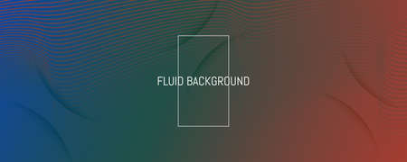 Flow Geometric Abstract. Vivid Futuristic Line Movement. Green Business Poster. Graphic Gradient Magazine. Fluid Concept. 3d Wave Background. Dynamic Geometric Abstract. Color Lines.