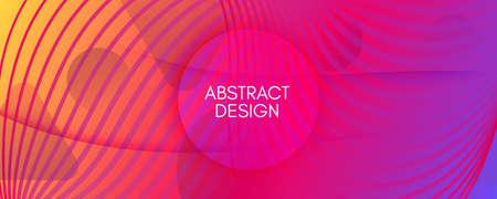 Bright Fluid Shape. Flow Abstract Layout. Curve Gradient Lines. Creative Fluid Shape. Memphis Pattern. Flow Stripes. 3d Movement. Futuristic Wallpaper. Colorful Website. Fluid Shape.