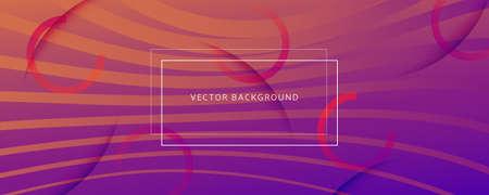 Abstract Fluid Background. 3d Dynamic Concept. Flow Lines Texture. Orange Abstract Fluid Background. Color Memphis Wallpaper. Business Illustration. Curve Shapes. Abstract Fluid Background. 矢量图像