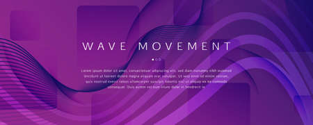 Fluid Background. Abstract Flow Line Movement. Wave Futuristic Poster. Vivid Technology Magazine. Violet Memphis Motion. Dynamic Fluid Background. 3d Texture. Curve Fluid Background. 矢量图像