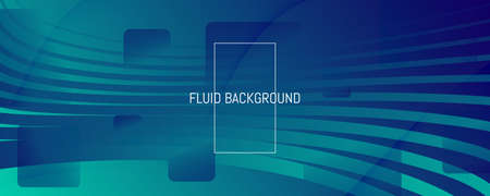 Blue Dynamic Wave. Fluid 3d Flyer. Vector Gradient Shapes. Dynamic Wave. Memphis Pattern. Flow Concept. Abstract Landing Page. Geometric Wallpaper. Dark Business Illustration. Dynamic Wave. 矢量图像