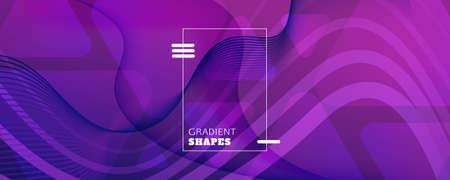 Fluid Background. Abstract Flow Shape Landing Page. Curve Dynamic Texture. Vivid Digital Illustration. Purple Vibrant Design. Futuristic Fluid Background. 3d Poster. Color Fluid Background.