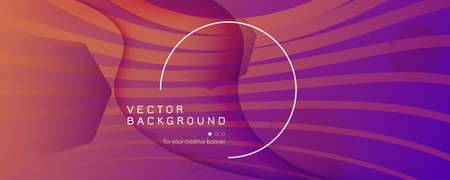Abstract Fluid Background. 3d Dynamic Layout. Flow Shapes Poster. Purple Abstract Fluid Background. Vector Vibrant Movement. Creative Website. Color Lines. Abstract Fluid Background.