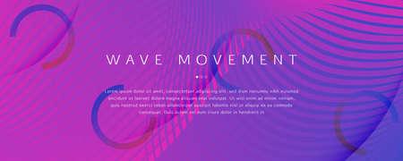 Pink Fluid Stripes. Creative Flyer. 3d Geometric Background. Graphic Wave Texture. Fluid Stripes. Flow Line Magazine. Abstract Flow Brochure. Blue Fluid Stripes. Business Illustration. 矢量图像
