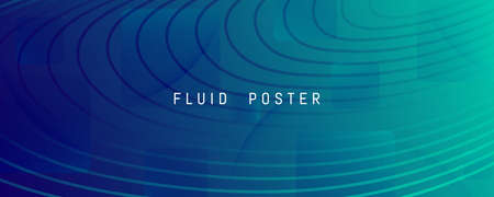 Dark Dynamic Wave. Flow Abstract Motion. Curve Gradient Shapes. Dynamic Wave. Graphic Poster. Fluid Stripes. 3d Movement. Geometric Wallpaper. Blue Creative Illustration. Dynamic Wave.