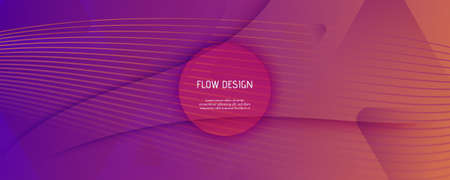 Abstract Fluid Background. 3d Futuristic Concept.