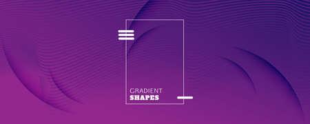 Fluid Background. 3d Flow Shapes Movement. Vector