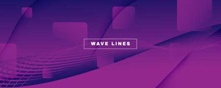 Fluid Background. Abstract Flow Line Wallpaper. 矢量图像