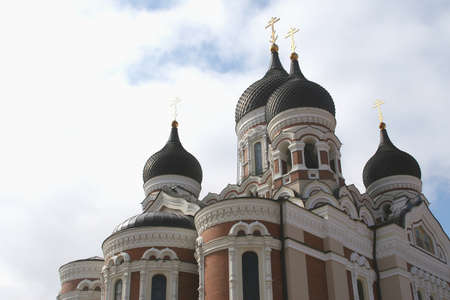 citytrip: Russian Orthodox church in Tallinn in Estonia