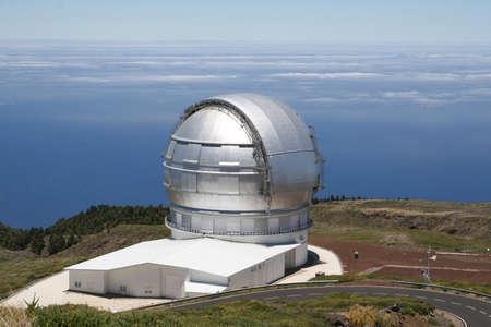 la: Observatory on the highest point of la palma Editorial