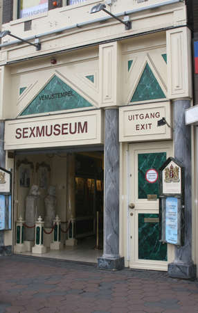 Sexmuseum in Amsterdam (Holland)
