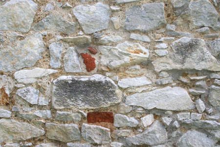 Background wall of old natural stones Stock Photo - 14226350