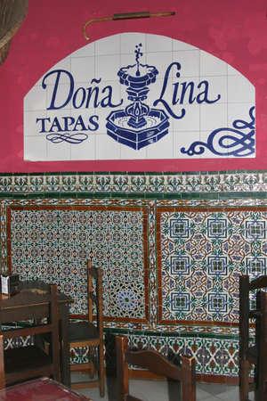 Tapas restaurant in Andalucia