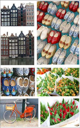 Impressions of Amsterdam Holland Stock Photo
