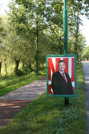 campaign promises: Election Campaign by the Socialist Party in Holland