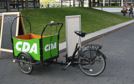 campaign promises: Election Campaign by the CDA Party in Holland