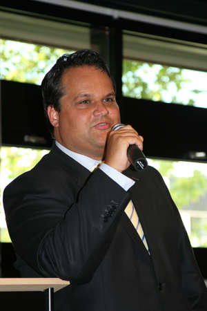 campaign promises: Minister of Finance Jan Kees de Jager in Holland