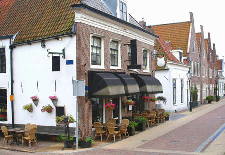 vesting: Marktstraat in Naarden  Holland
