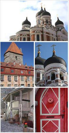 citytrip: Collage of Tallinn