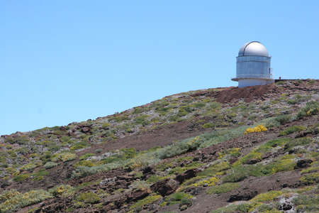 Telescope for the observation of the universe at La palma