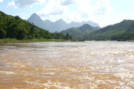 mekong: Landscape with the Mekong river