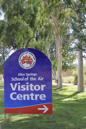 teaching stations: The School of the Air gives education at distance by cameras to children in the Australian outback