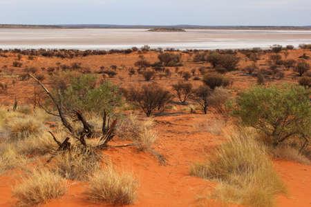 amadeus: Lake Amadeus Salt Lakes near Alice Springs