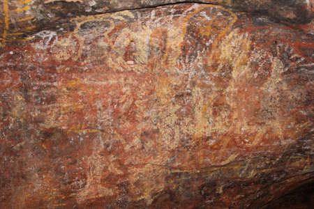 ayers: Prehistoric Aboriginal rock art at Uluru Ayers Rock
