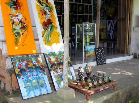 art gallery: Galleria d'arte a Ubud Bali Editoriali