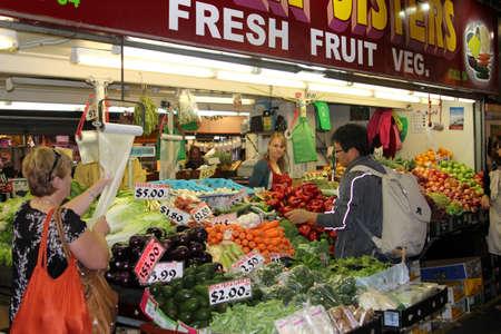central market: Mercado Central de Adelaide Australia