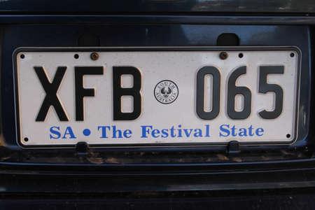 plaque immatriculation: Plaque d'immatriculation en Australie du Sud Le festival d'�tat �ditoriale