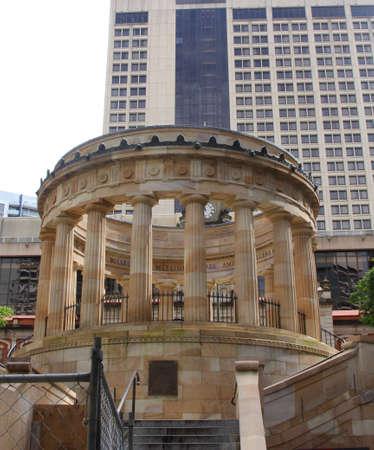 anzac: Brisbane Anzac Monument in Brisbane  Editorial