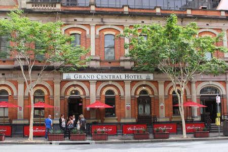 Architecture of the Grand Central Hotel in Brisbane Australia
