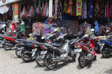 sanur: Shop and motorbikes at Sanur Bali