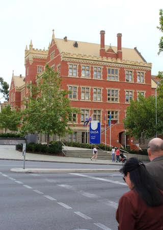 East City Campus of the University of South Australia in Adelaide Editorial