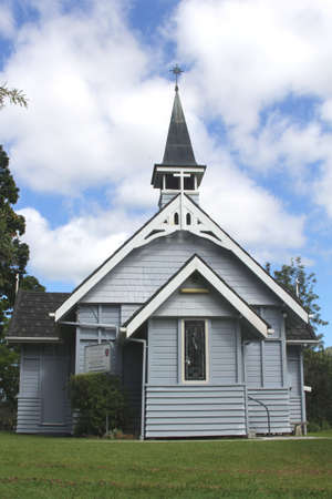 Wooden Anglican Church in Canungra near the Gold Coast in Queensland Australia on 17 april 2013