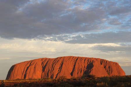 tjuta: Sunset at Ayers Rock in Australia Editorial