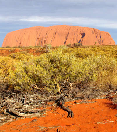 Ayers Rock in the Australian Outback