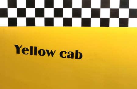 Background yellow cab photo