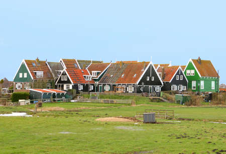 ijsselmeer: Village Marken along the IJsselmeer near Amsterdam