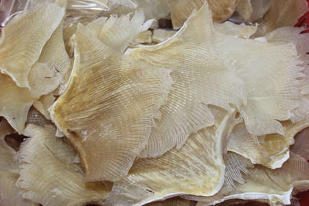 Dried fish is a popular delicacy in China and Hongkong photo