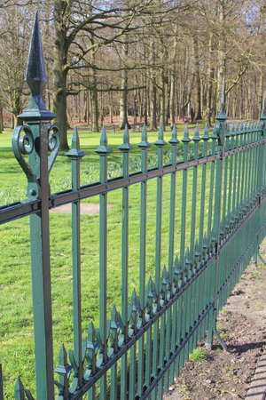 Royal wrought iron fence  photo