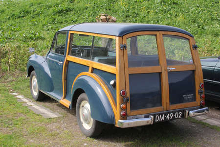 eempolder: Classic Mini Minor 1000 Traveller