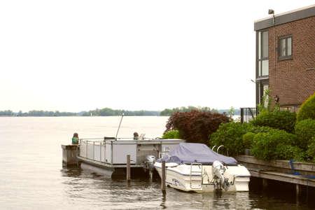 plassen: Loosdrecht, Netherlands Apartment with a yacht along the lakes of Loosdrecht